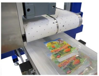 Etikettiermaschine für die Lebensmittelindustrie