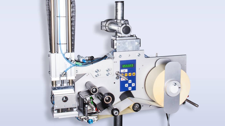 Druck- und Spendesystem zur vollautomatischen Etikettierung