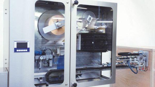 Etikettierautomat für Paletten